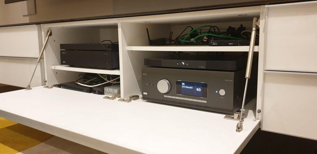 Dirac live professional calibration service config dec 2020 kef in wall 2
