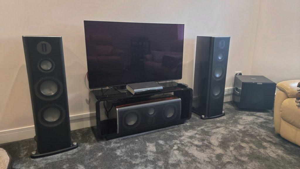 Dirac Live Calibration Essex Arcam AVR 850 monitor audio platinum REL website 1