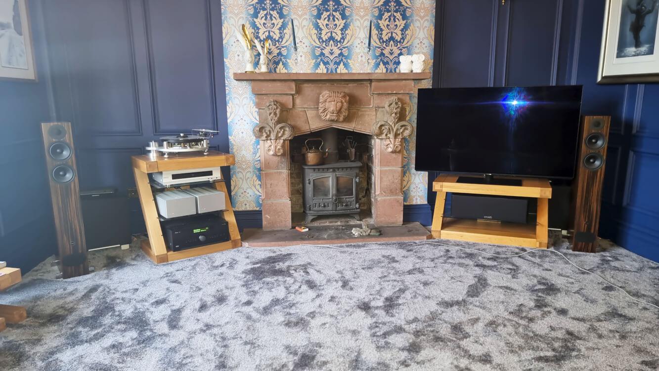 dirtac live calibration arcam avr850 pmc speakers rel warrington website 2
