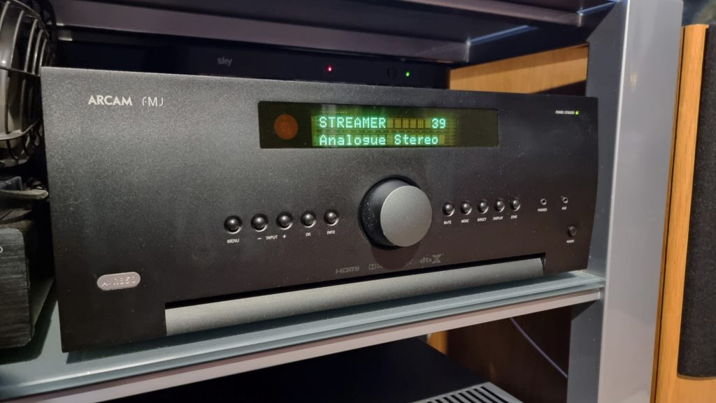 dirac live calibration arcam avr850 pmc speakers subwoofer rel london website 2